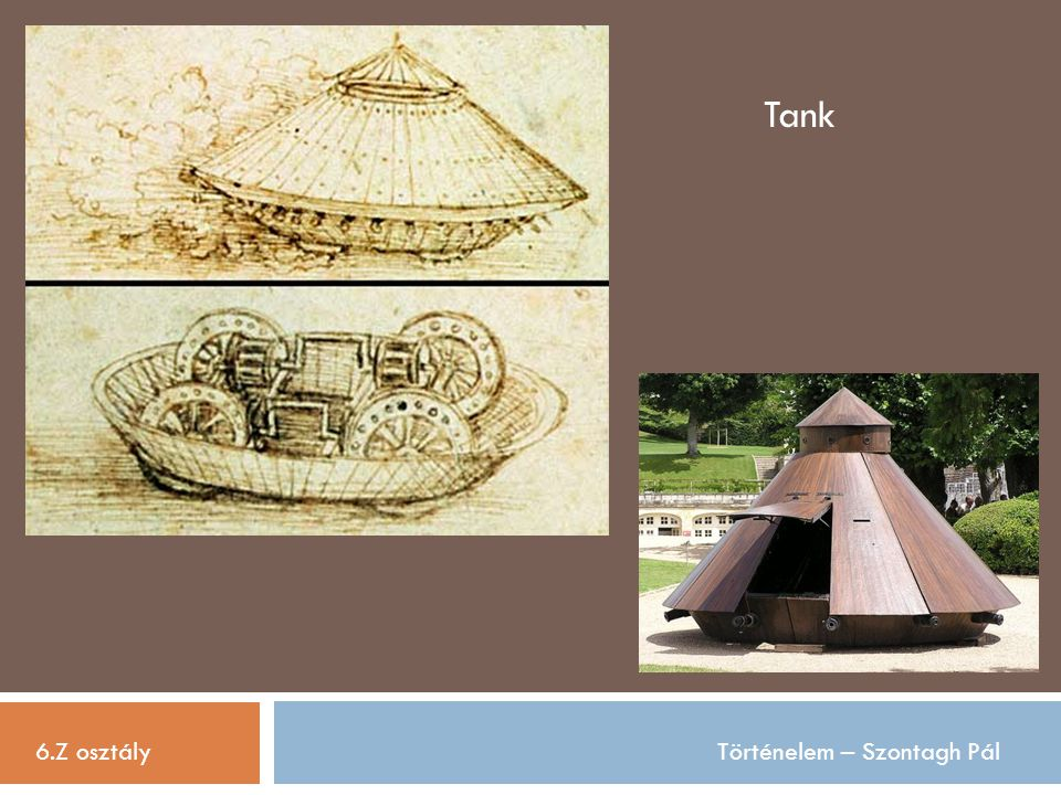 Tank 6.Z osztály Történelem – Szontagh Pál