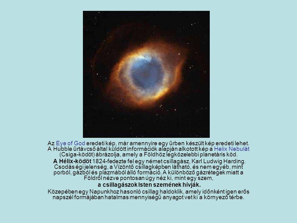 a csillagászok Isten szemének hívják.