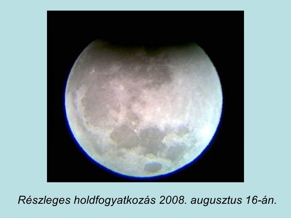 Részleges holdfogyatkozás 2008. augusztus 16-án.