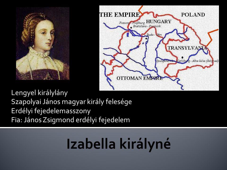 Izabella királyné Lengyel királylány