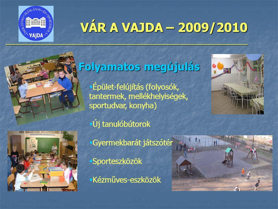 VÁR A VAJDA – 2009/2010 ________________________________________________