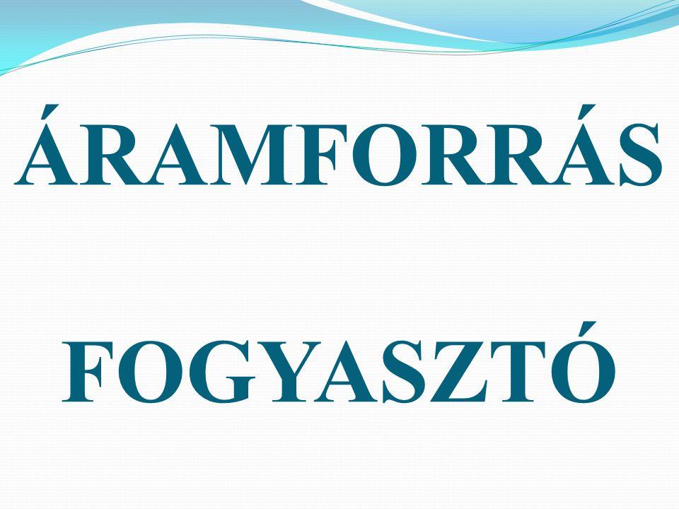 ÁRAMFORRÁS FOGYASZTÓ