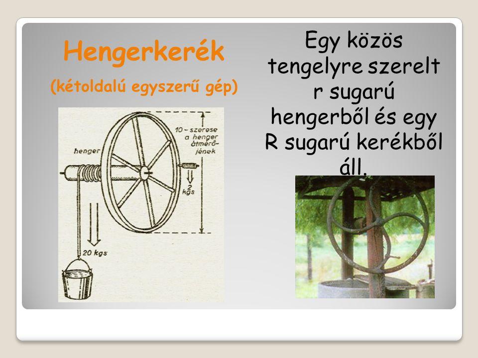 (kétoldalú egyszerű gép)