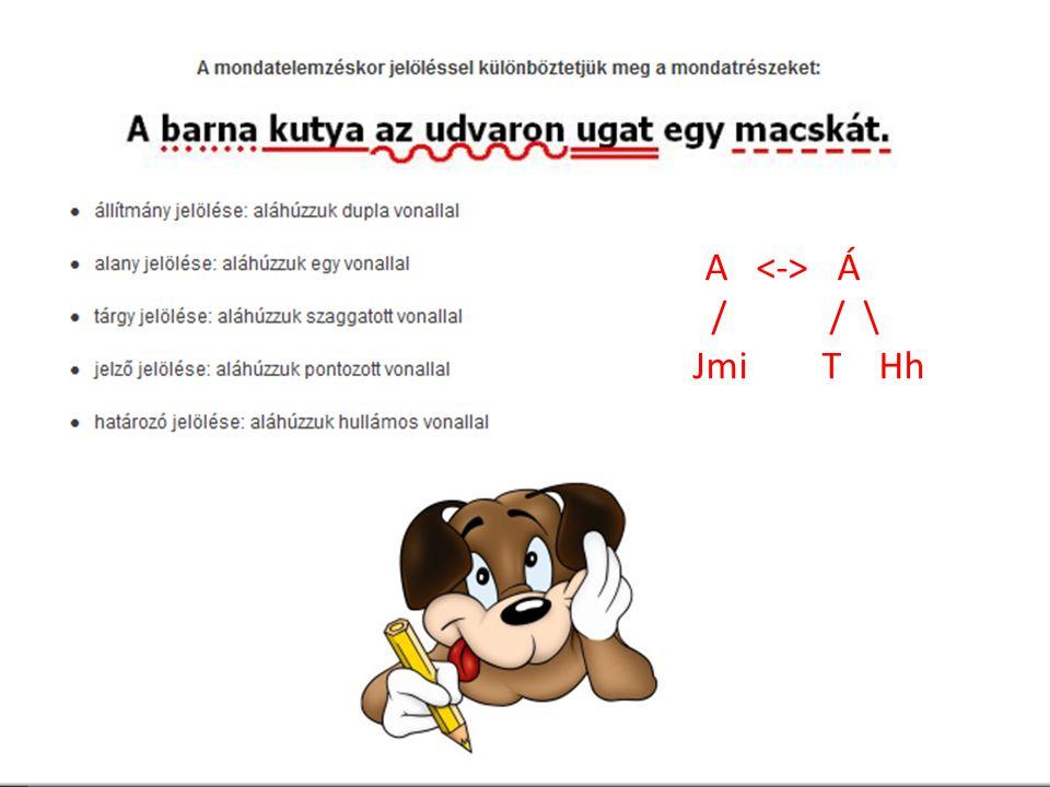 A <-> Á / / \ Jmi T Hh