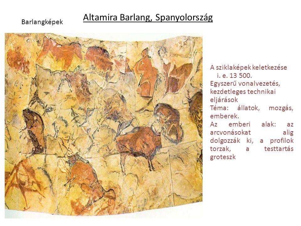 Altamira Barlang, Spanyolország
