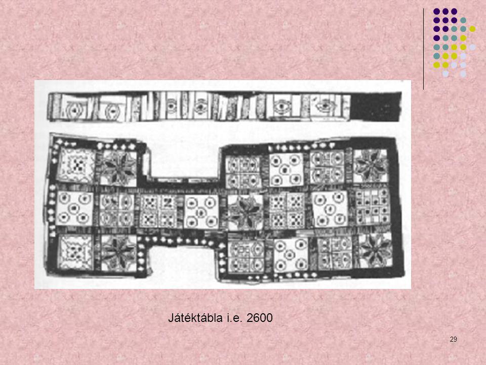 Játéktábla i.e. 2600