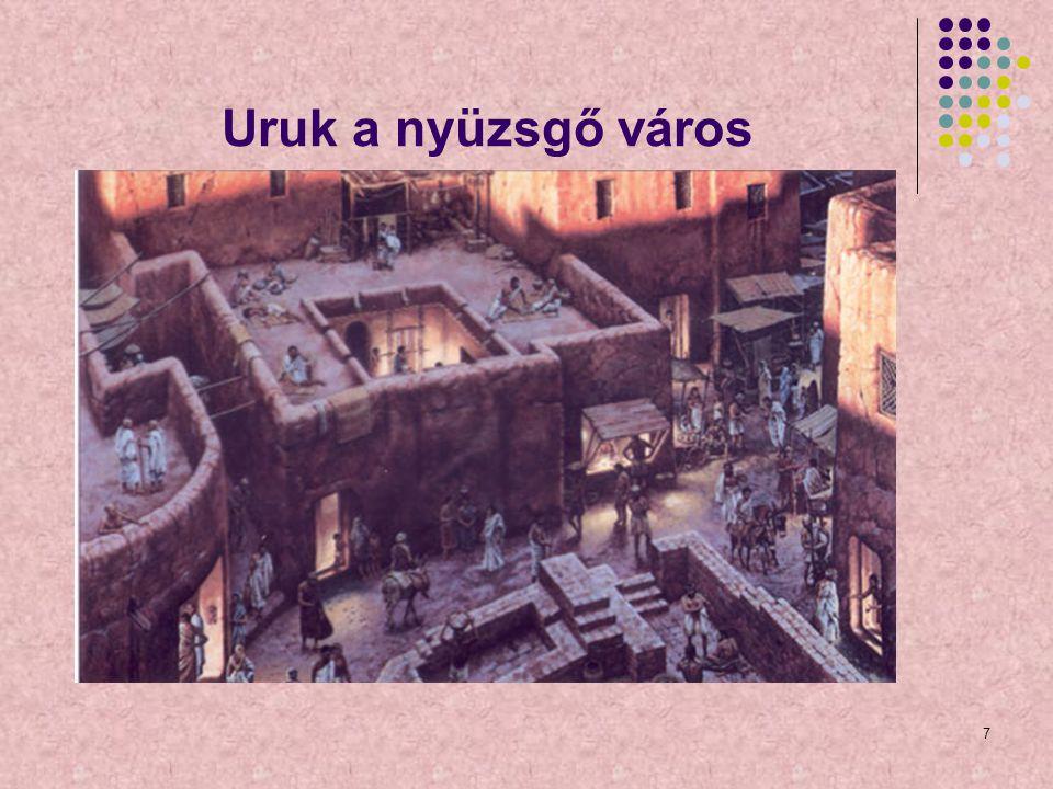 Uruk a nyüzsgő város