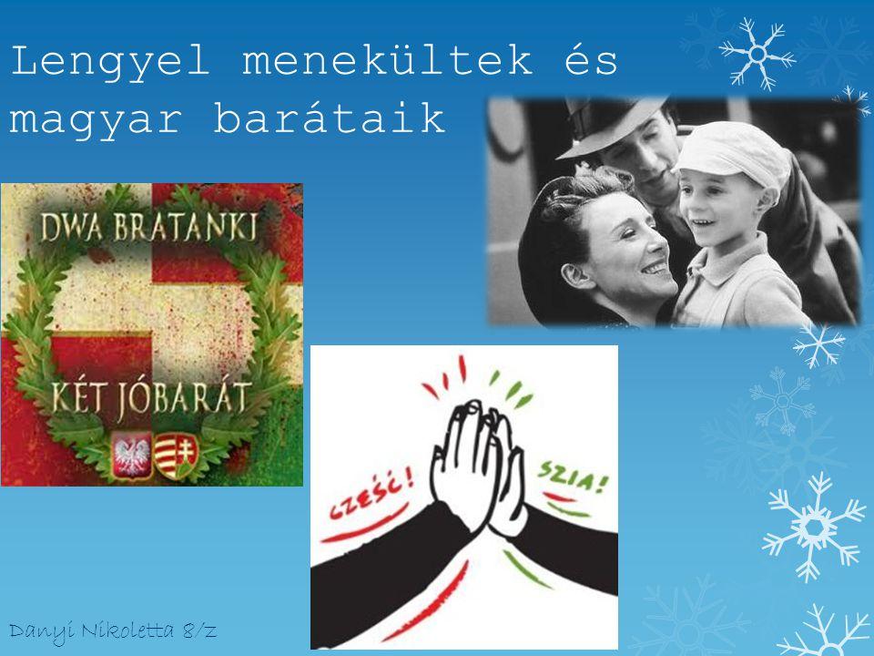 Lengyel menekültek és magyar barátaik