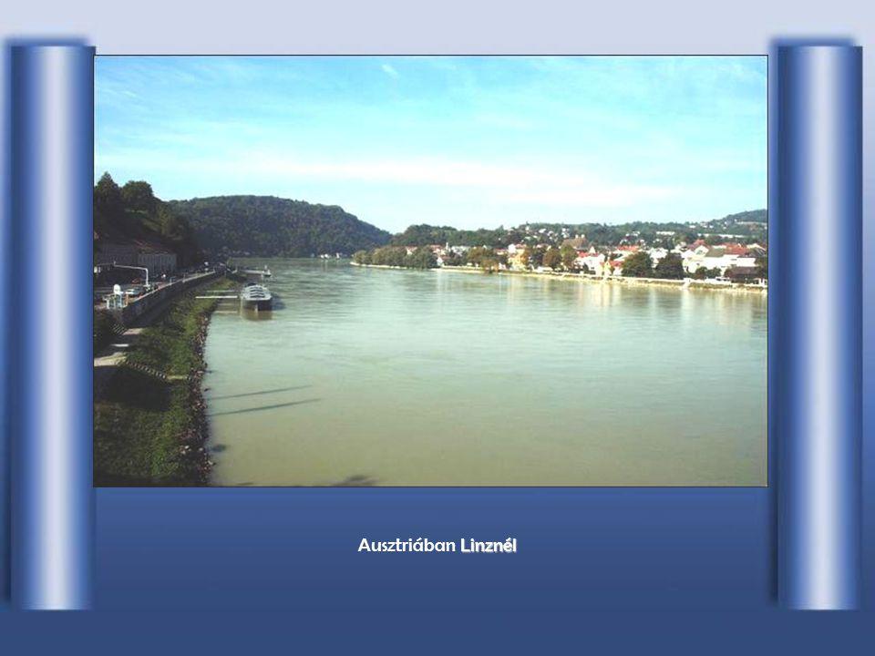 Ausztriában Linznél