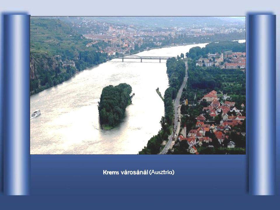 Krems városánál (Ausztria)