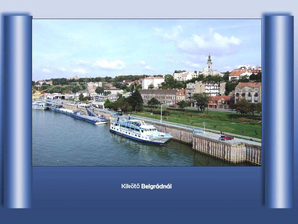 Kikötő Belgrádnál