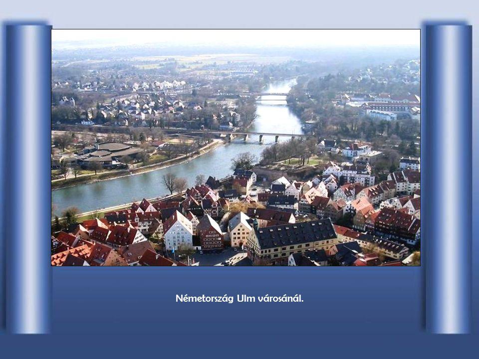 Németország Ulm városánál.
