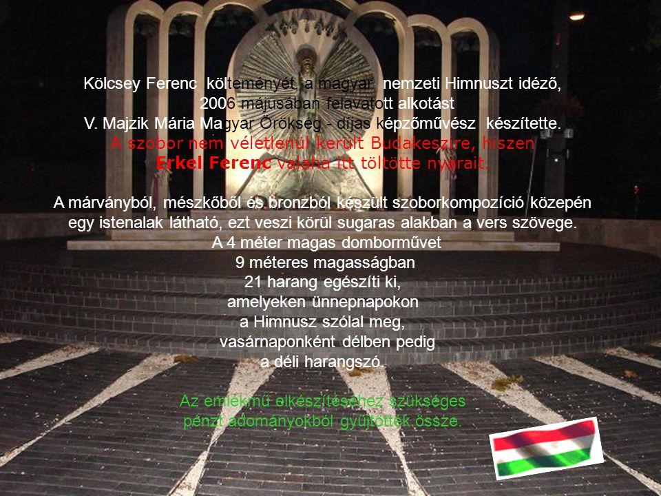 Kölcsey Ferenc költeményét, a magyar nemzeti Himnuszt idéző,