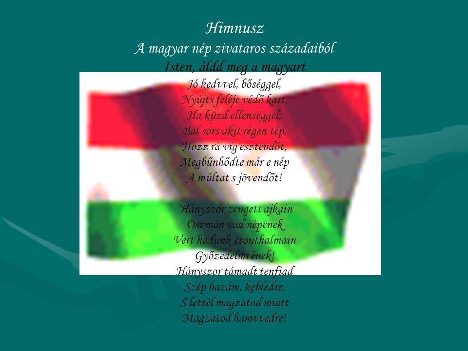 Himnusz A magyar nép zivataros századaiból Isten, áldd meg a magyart