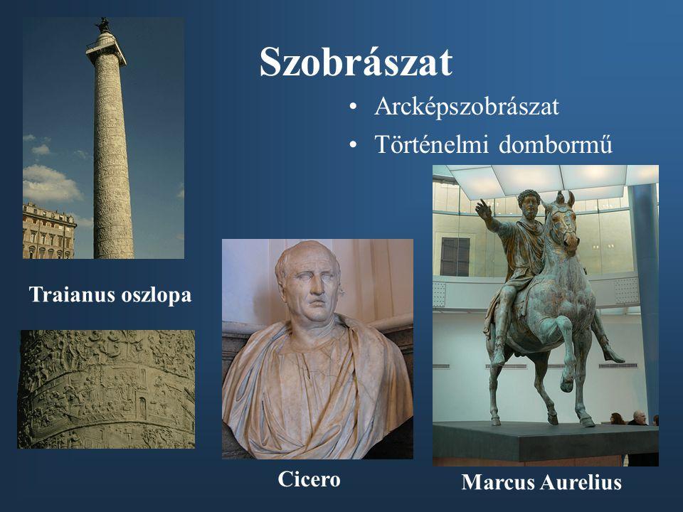Szobrászat Arcképszobrászat Történelmi dombormű Traianus oszlopa