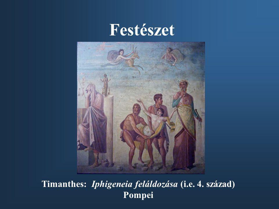 Timanthes: Iphigeneia feláldozása (i.e. 4. század)