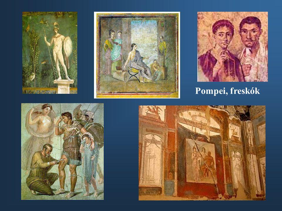 Pompei, freskók