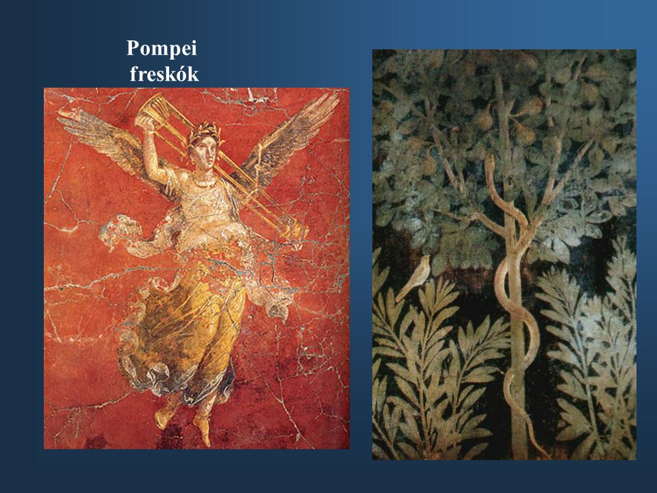 Pompei freskók