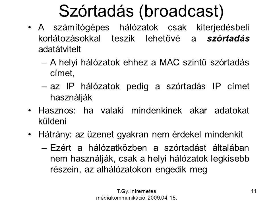 Szórtadás (broadcast)