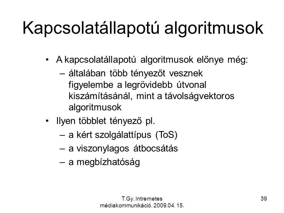 Kapcsolatállapotú algoritmusok