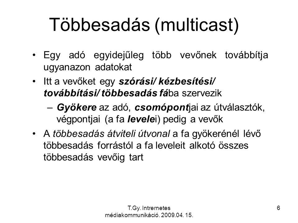 Többesadás (multicast)