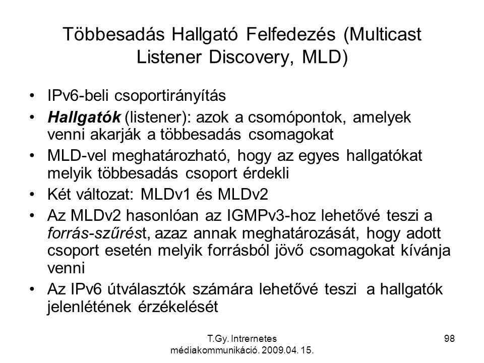 Többesadás Hallgató Felfedezés (Multicast Listener Discovery, MLD)