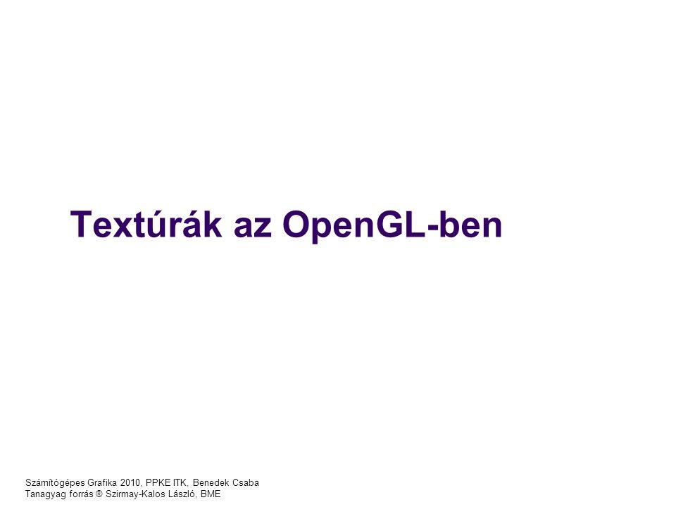 Textúrák az OpenGL-ben