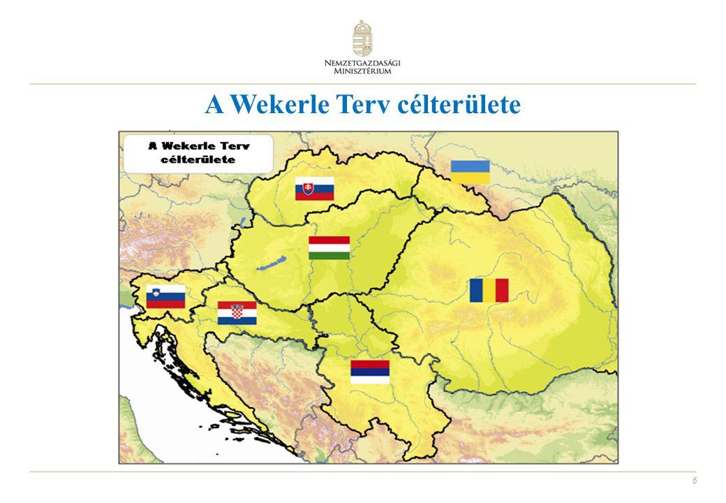 A Wekerle Terv célterülete