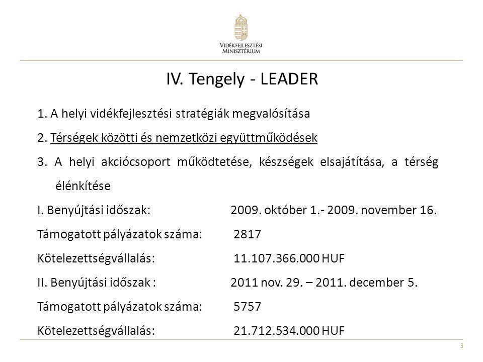 IV. Tengely - LEADER