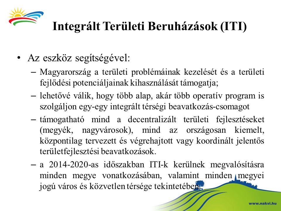 Integrált Területi Beruházások (ITI)