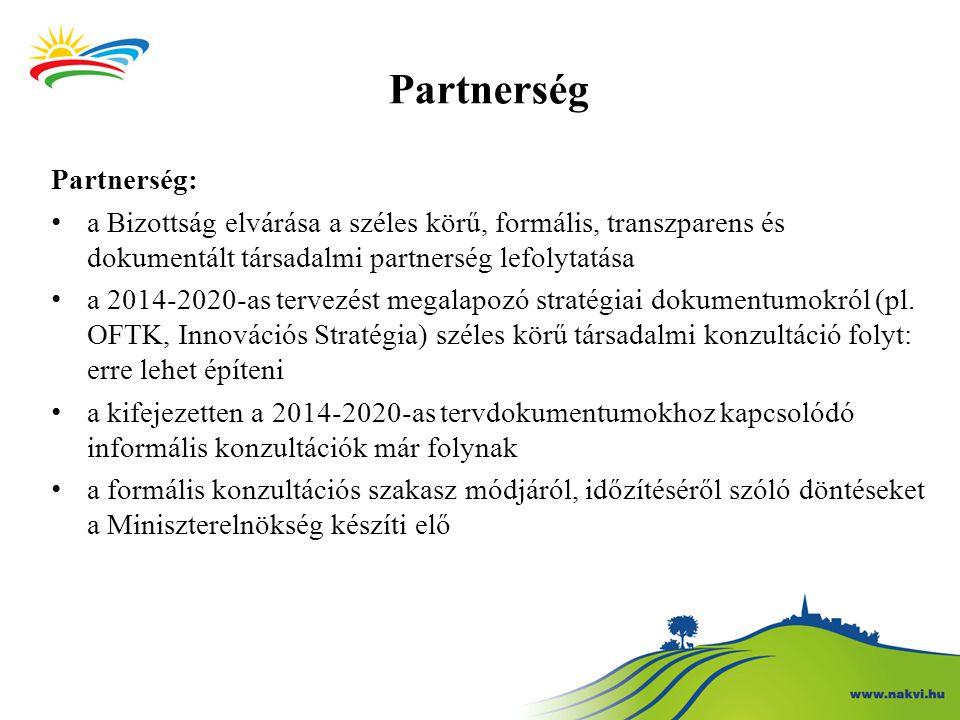Partnerség Partnerség: