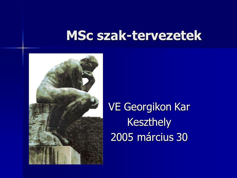 VE Georgikon Kar Keszthely 2005 március 30
