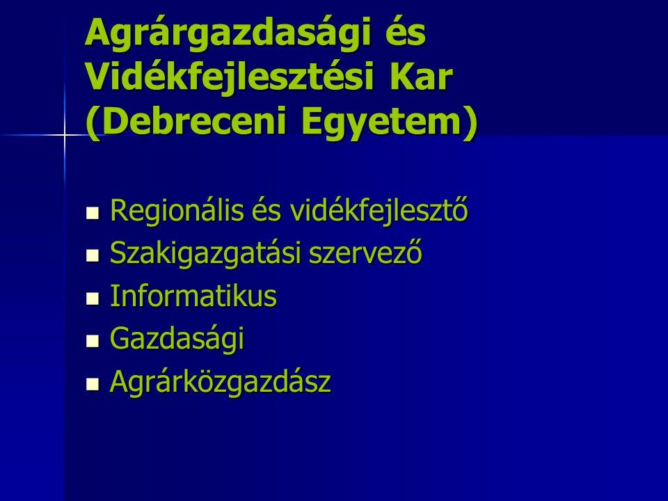 Agrárgazdasági és Vidékfejlesztési Kar (Debreceni Egyetem)