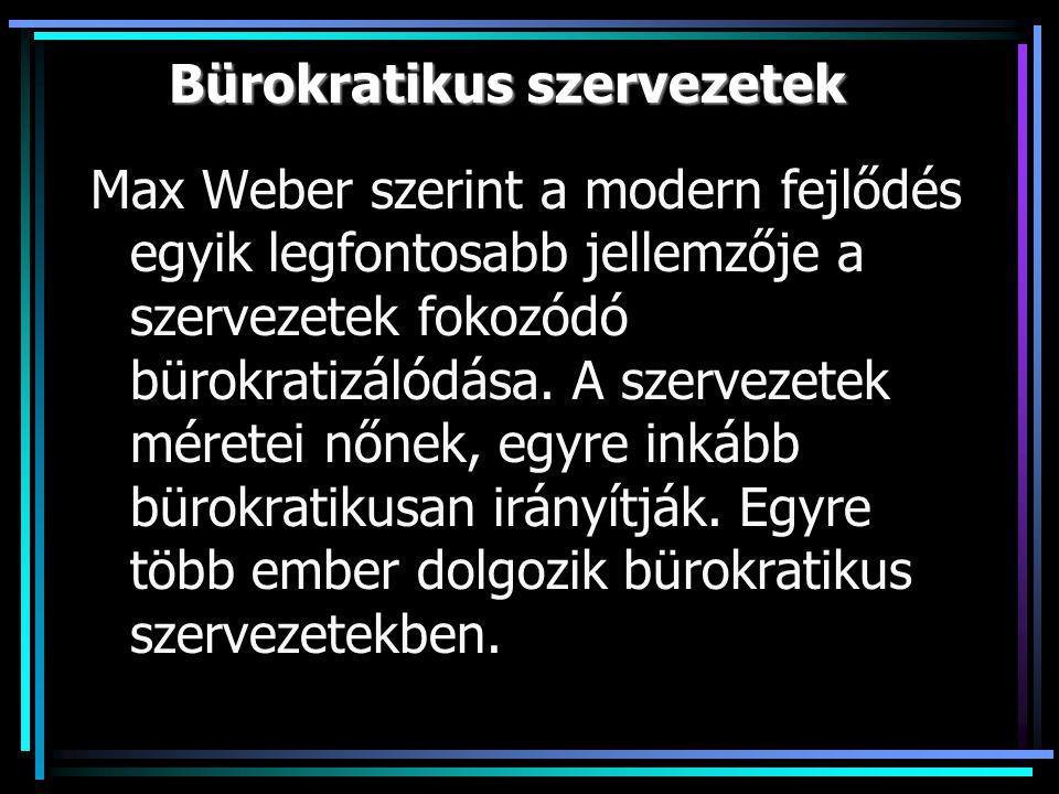 Bürokratikus szervezetek