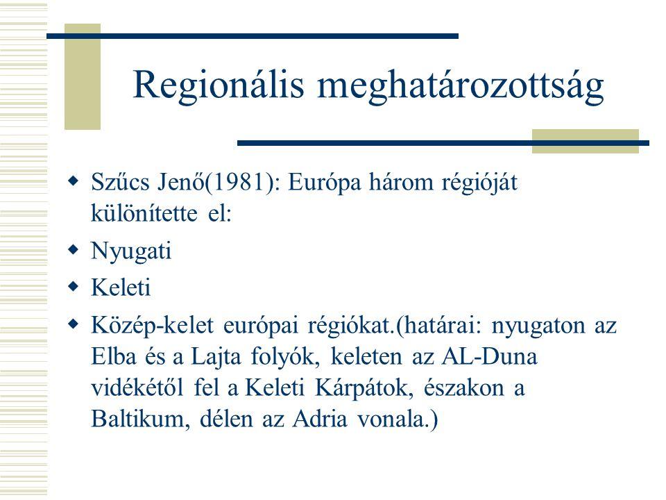 Regionális meghatározottság