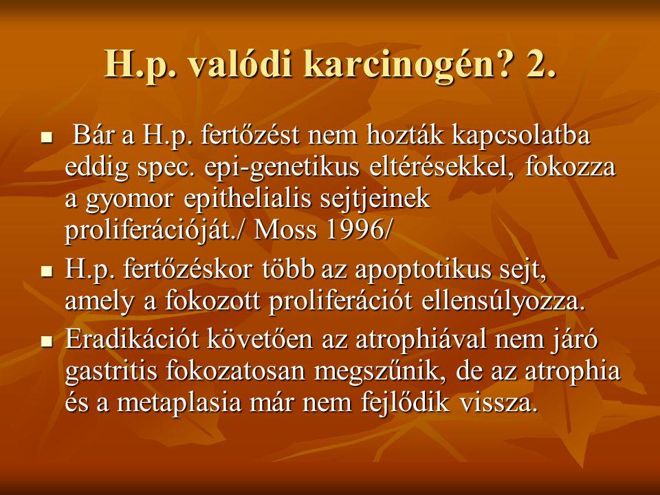 H.p. valódi karcinogén 2.