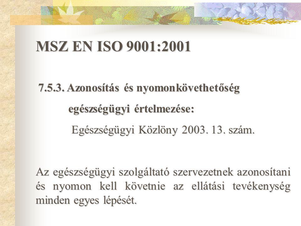 Egészségügyi Közlöny 2003. 13. szám.