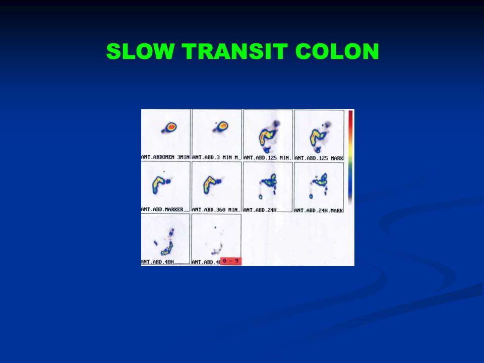 SLOW TRANSIT COLON
