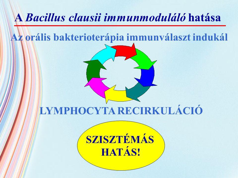 Az orális bakterioterápia immunválaszt indukál
