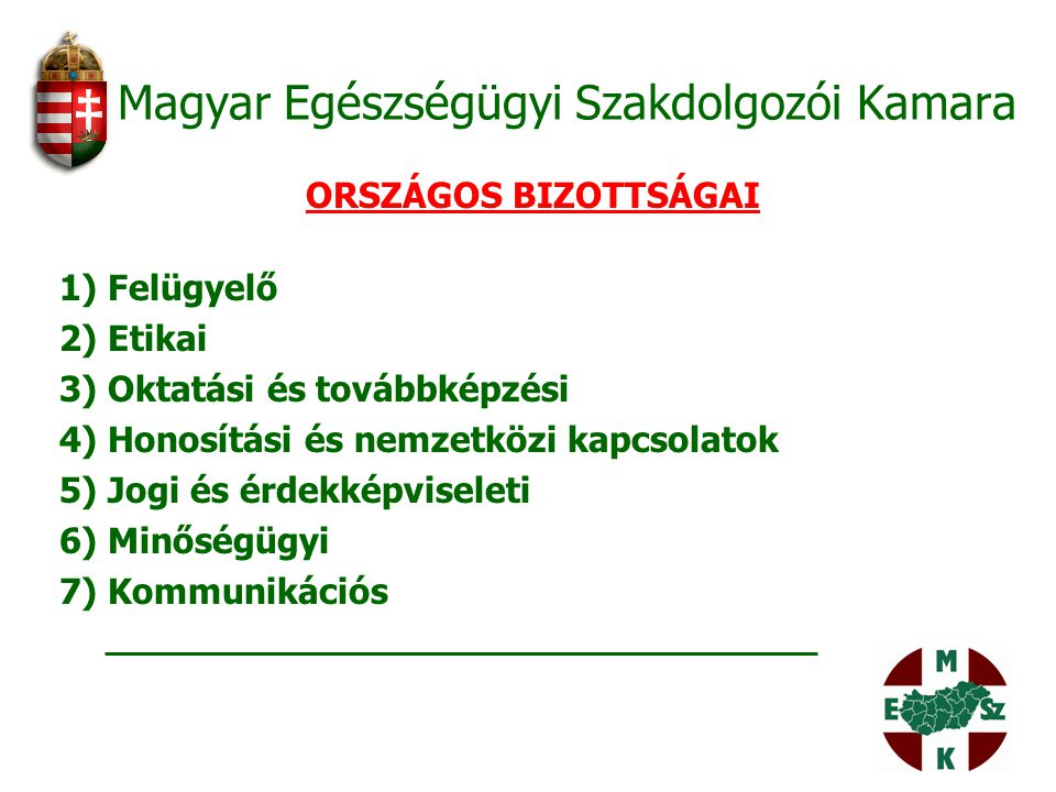 Magyar Egészségügyi Szakdolgozói Kamara