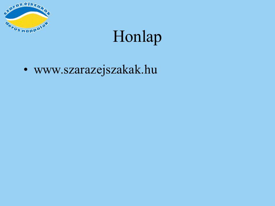 Honlap www.szarazejszakak.hu