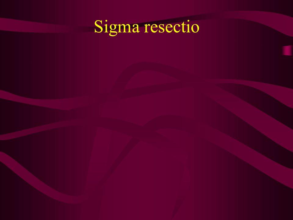 Sigma resectio