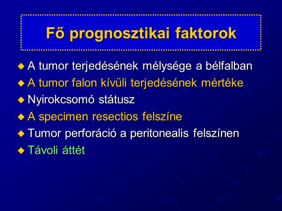 Fő prognosztikai faktorok