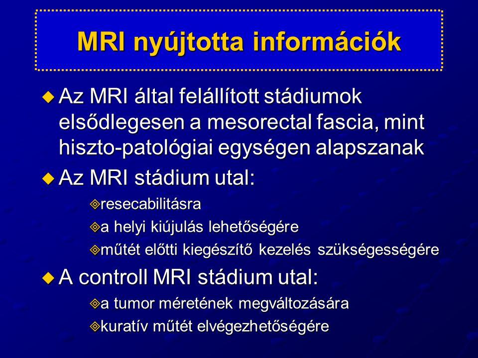 MRI nyújtotta információk