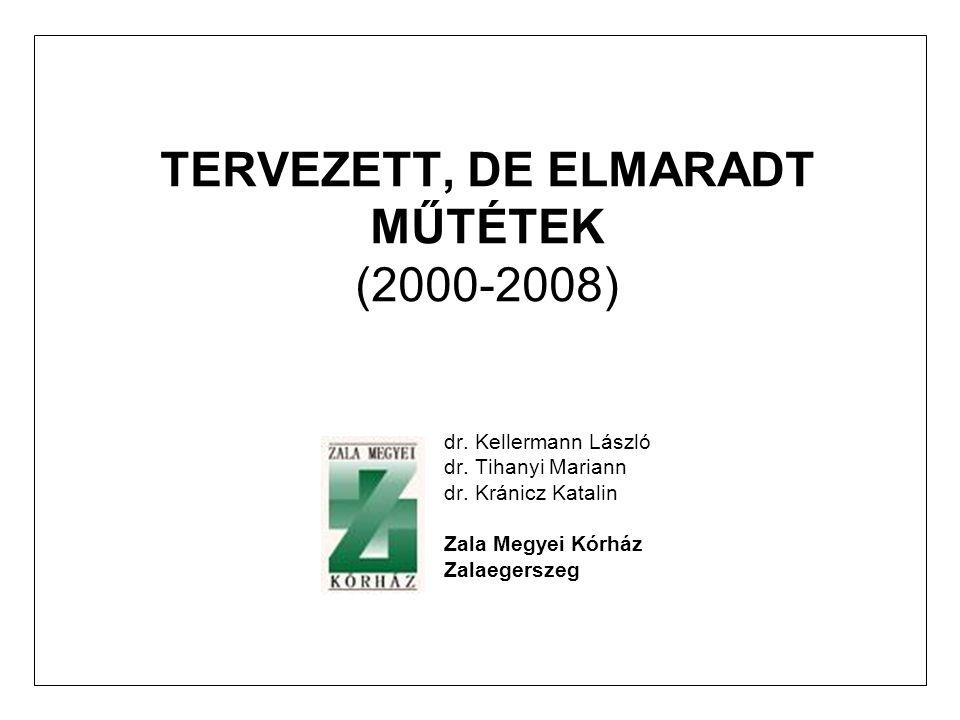 TERVEZETT, DE ELMARADT MŰTÉTEK (2000-2008)