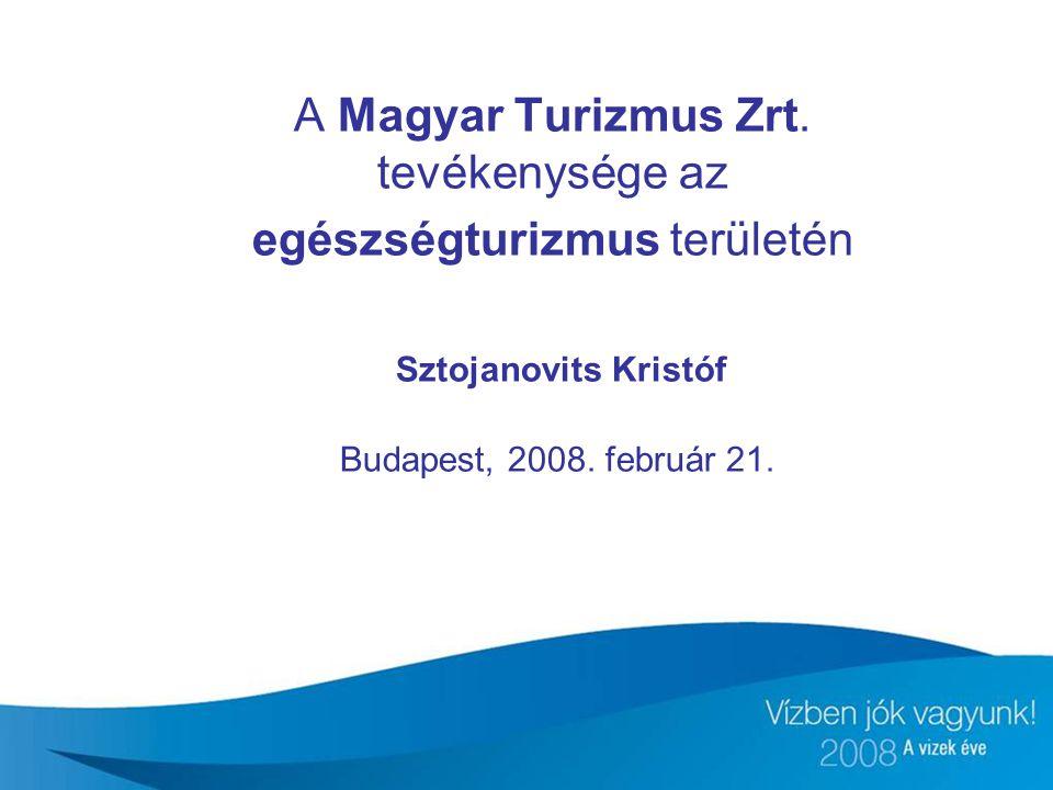 A Magyar Turizmus Zrt.