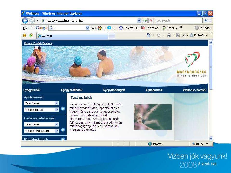 Az oldal 2007 júniusában indult 3 nyelven (angol, német, magyar)