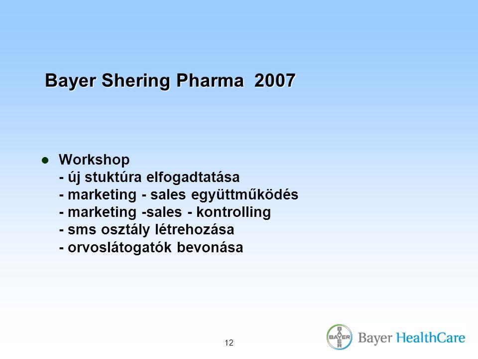 Bayer Shering Pharma 2007