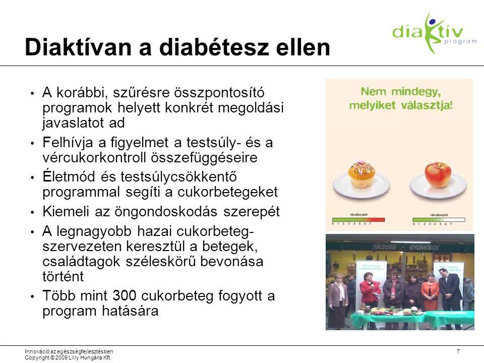 Diaktívan a diabétesz ellen