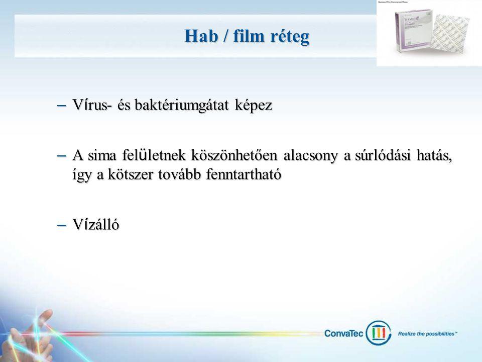 Hab / film réteg Vírus- és baktériumgátat képez